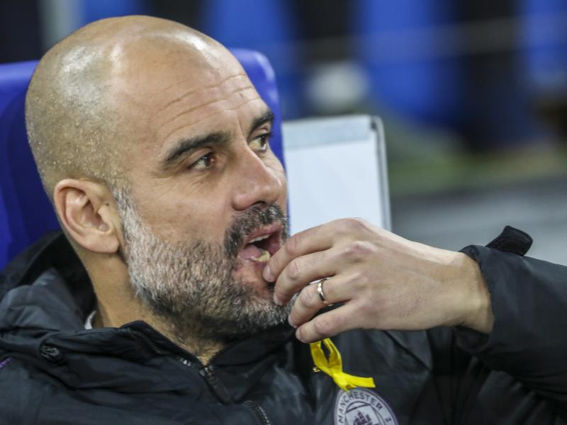 Guardiola calls for match suspension rather than playing behind closed doors