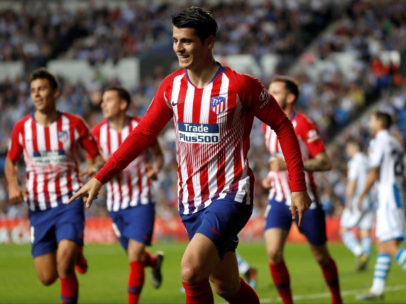 Spain coach defends Morata after Norway misses
