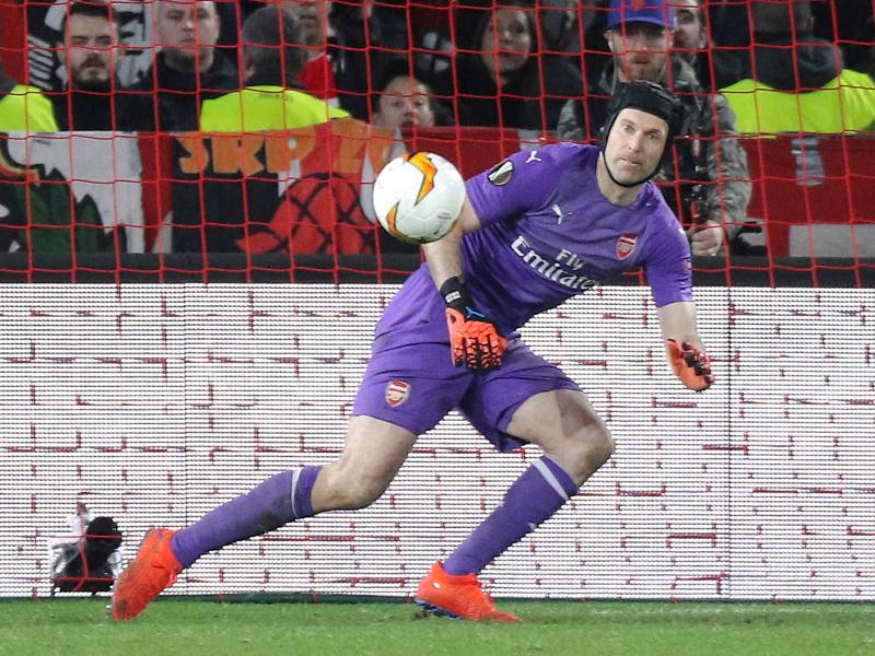 Petr Cech on possibility of meeting Chelsea in Europa League final