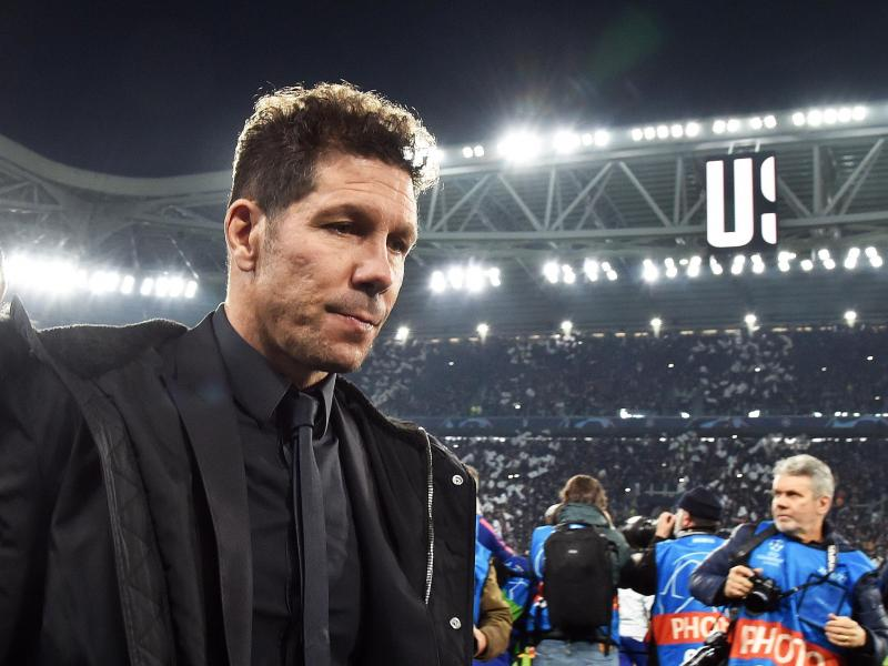 Simeone takes a dig at referees favoring Barcelona