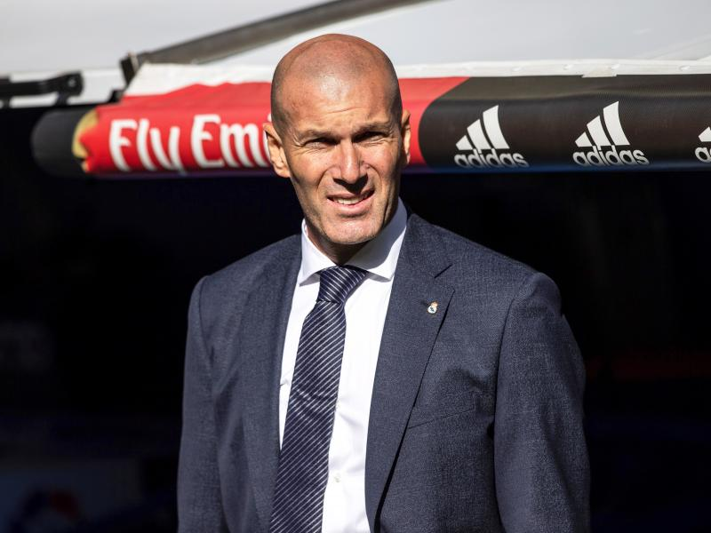 Zinedine Zidane on dropping Thibaut Courtois against Celta Vigo