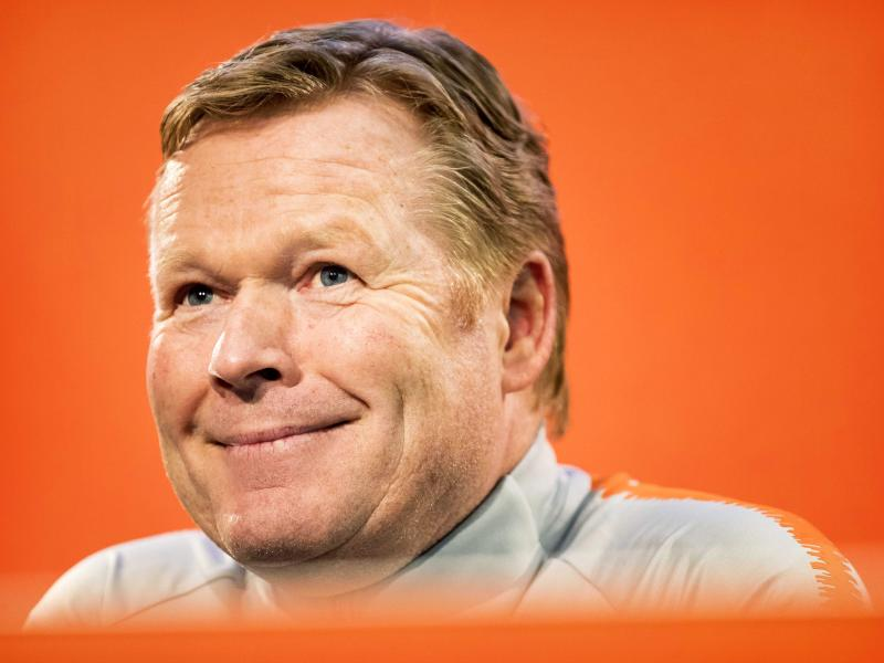 RONALD KOEMAN: It's my dream to coach Barcelona