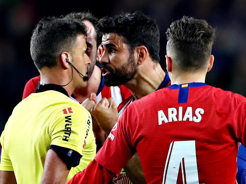 Reports: Costa refuses to train with Atletico Madrid teammates