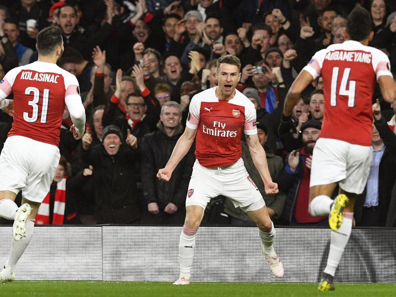 Ramsey will help from sidelines, says Arsenal boss