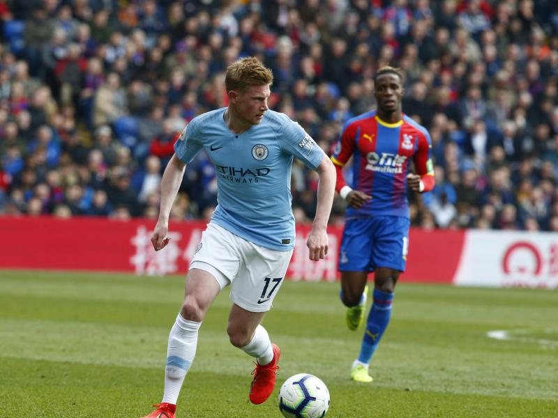 What Guardiola said about De Bruyne after Palace win