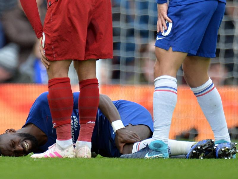 Maurizio Sarri provides an injury update on Antonio Rudiger
