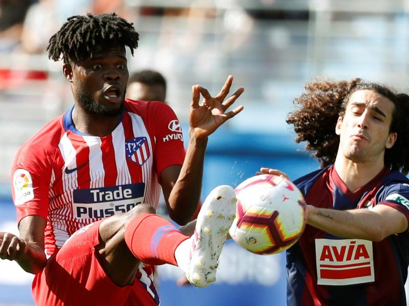 Thomas Partey in contention to start for Atletico Madrid against Getafe