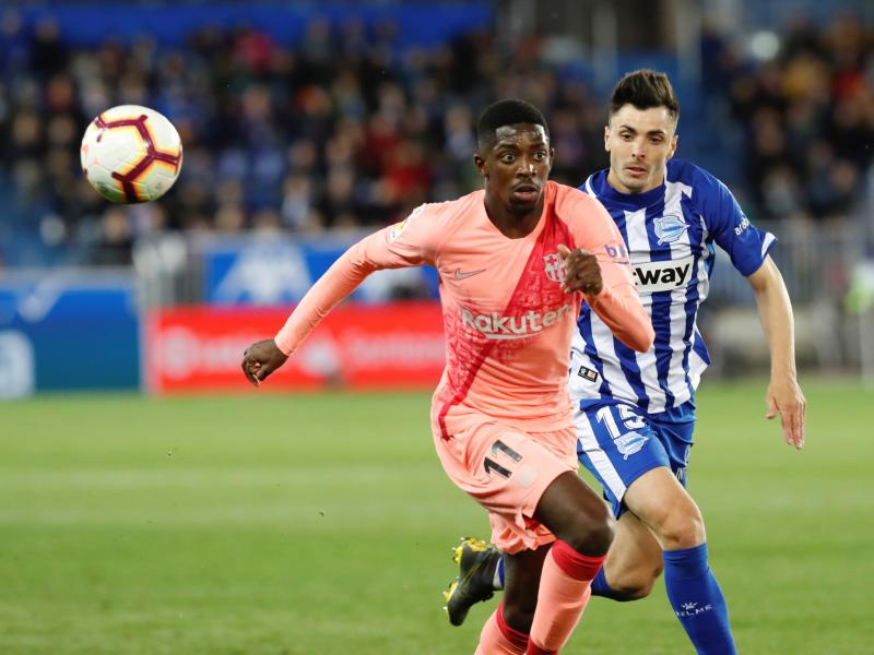 Barcelona have one hand on the trophy after win over Alaves