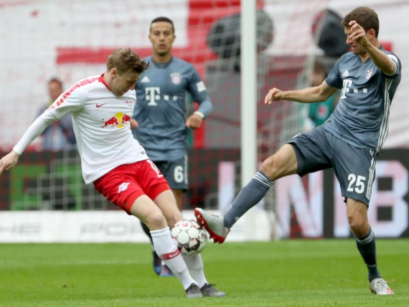 Leipzig hold Bayern to prolong Bundesliga title race