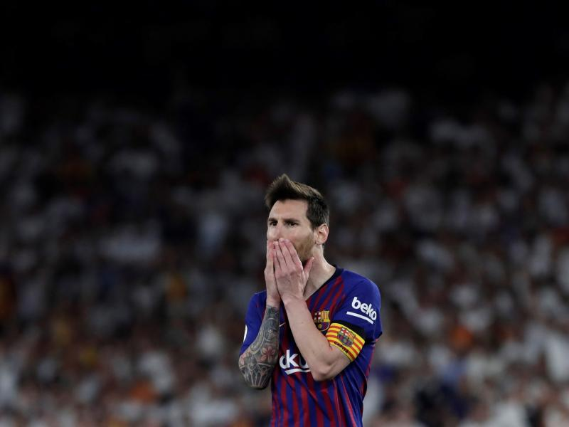 Messi pulls out of Barcelona clash vs Real Betis