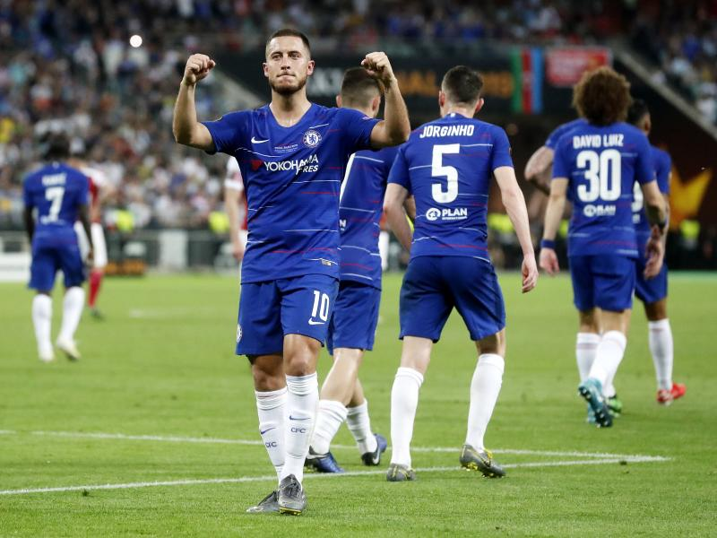 Hazard undergoes Real Madrid medical