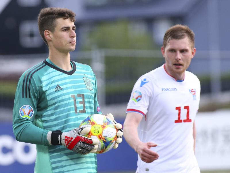 Kepa Arrizabalaga responds to replacing David de Gea as Spain's first choice