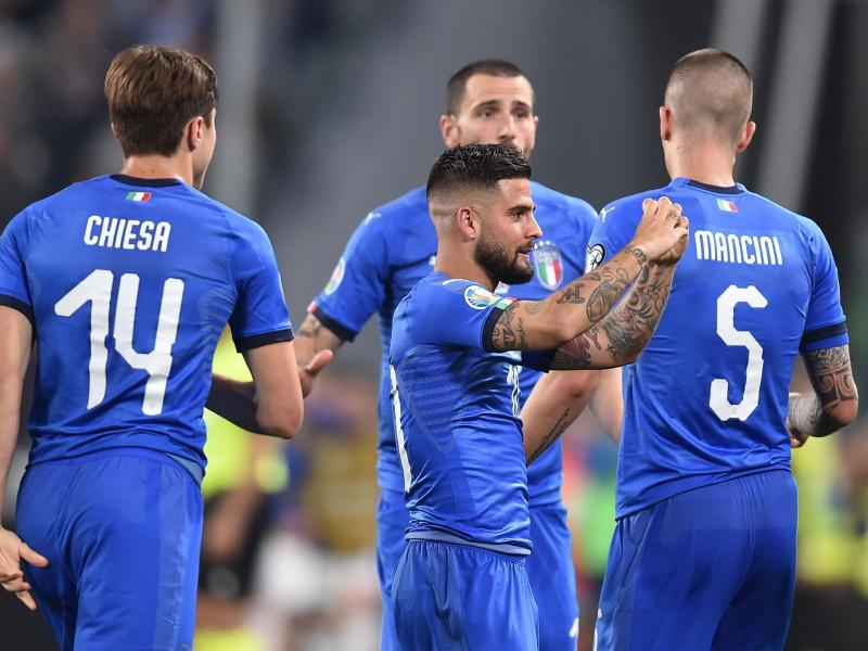 WATCH: Insigne's stunning volley for Italy