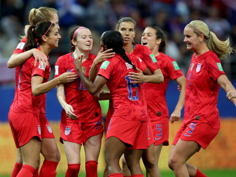 Women's WC: USA make World Cup history with 13-0 thumping of Thailand