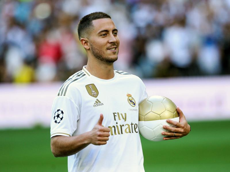 Injury boost for Real Madrid as Hazard resumes training