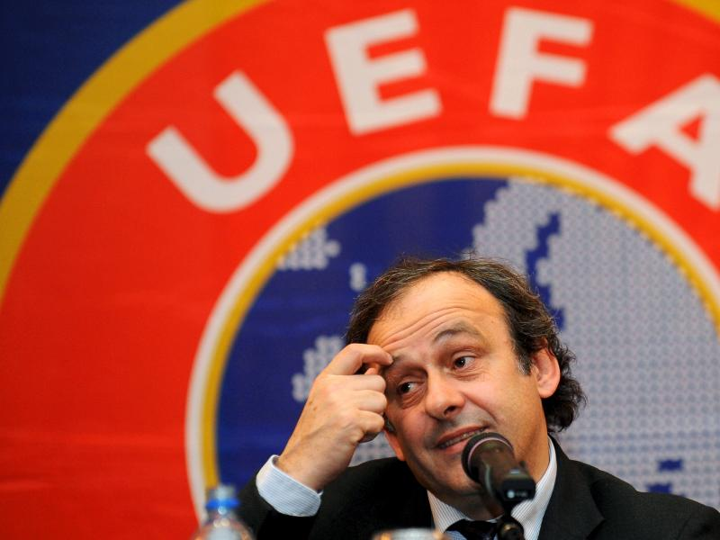 Michel Platini hits out at UEFA President