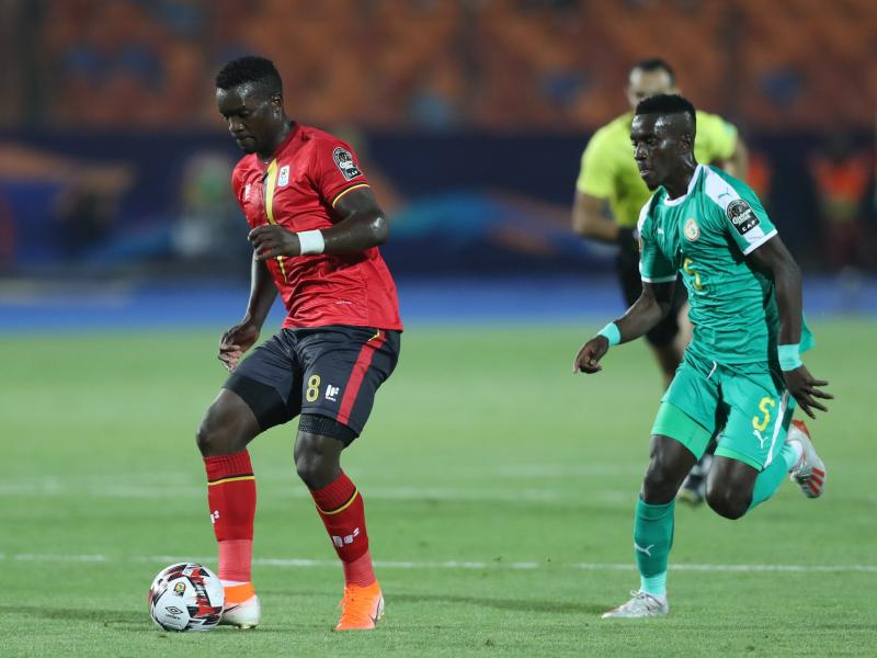Ugandan star Khalid Aucho threatens to quit Egyptian side over unpaid wages