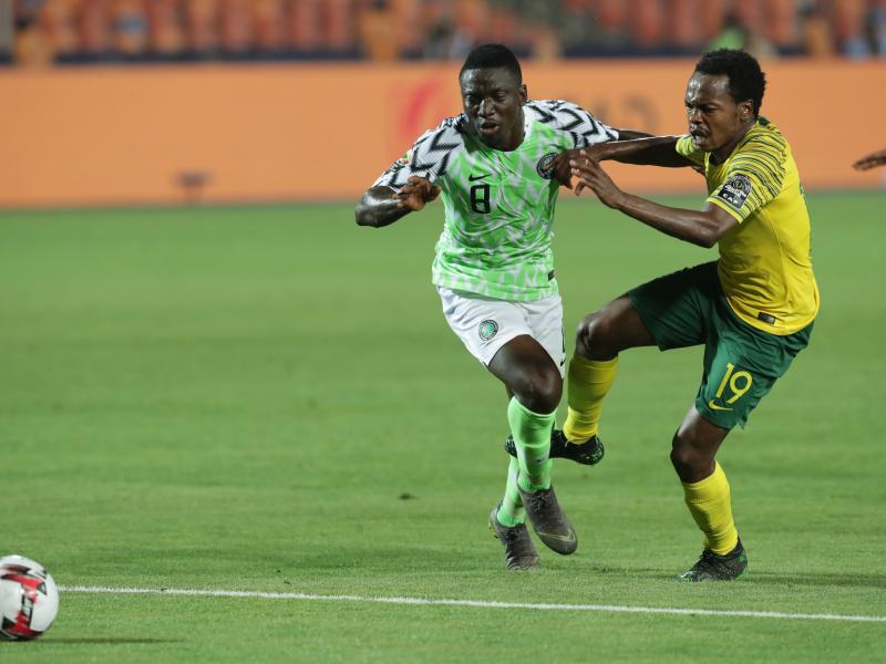 Etebo remembers AFCON 2019 with sadness