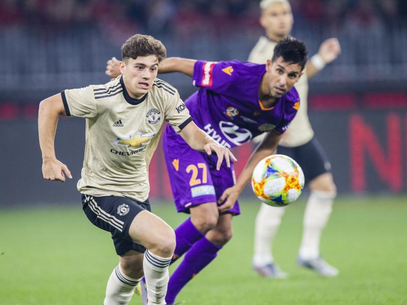 Daniel James on what Ole Gunnar Solskjaer told him before his Manchester United debut