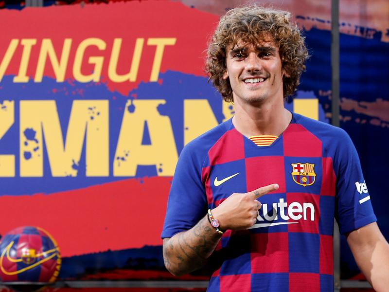 Griezmann jersey number at Barcelona revealed