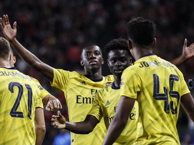 Nketiah strikes again as Arsenal beat Fiorentina 3-0