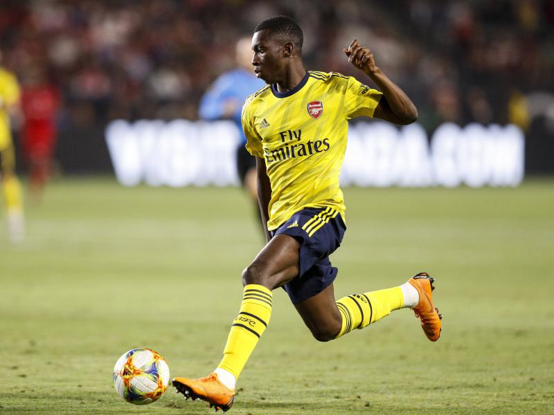 🎥 WATCH: Nketiah hattrick as Arsenal hammer Charlton 6-0