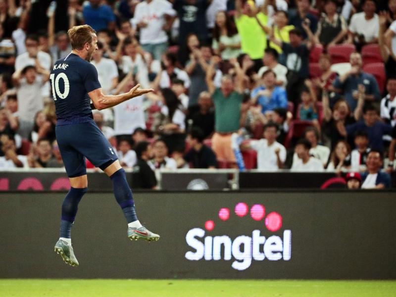 WATCH: Harry Kane's goal from halfway line against Juventus