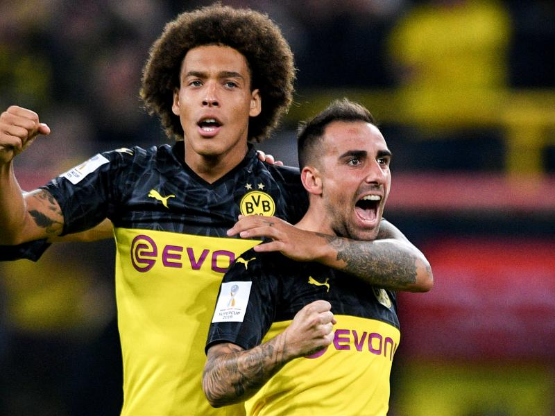 Borussia Dortmund's Axel Witsel on why he rejected the biggest moves