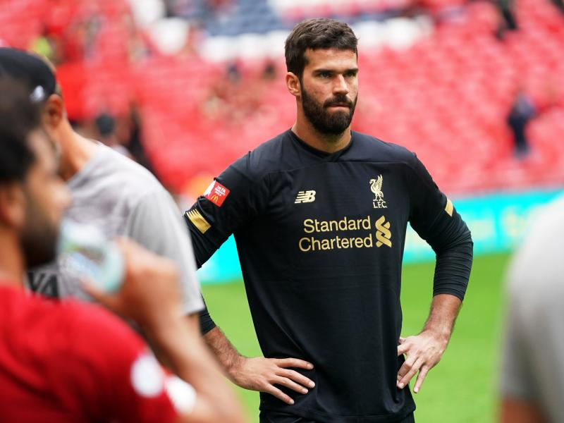 Liverpool provide an injury update on Alisson ahead of Arsenal clash