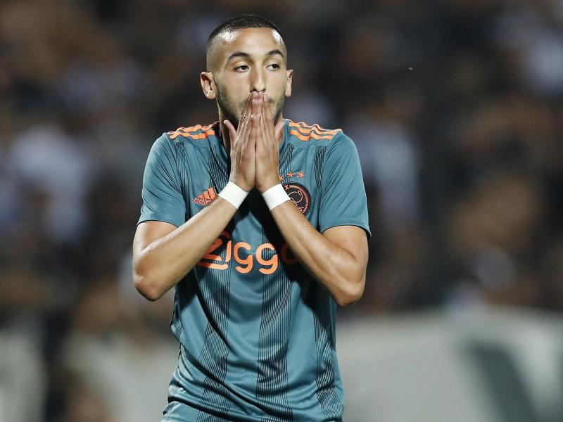 Chelsea or Arsenal? Look at Ziyech's response in 2017