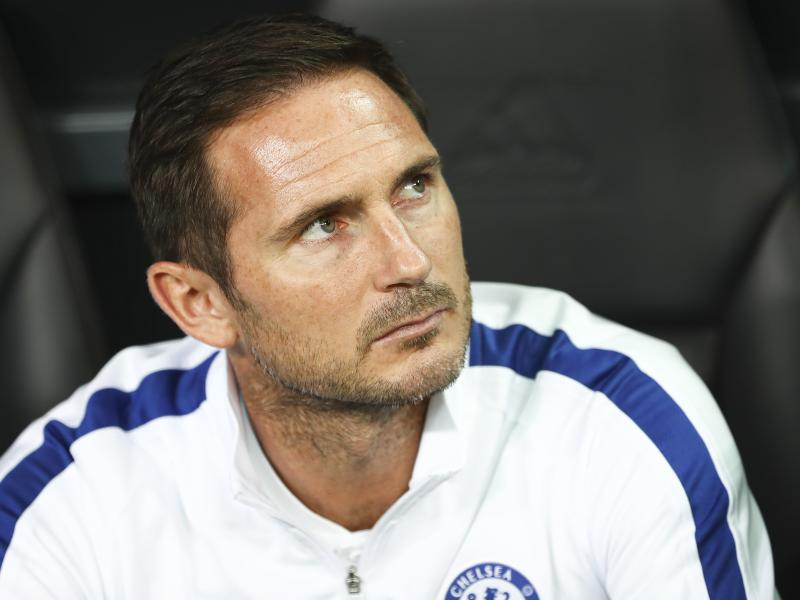 Frank Lampard happier with 4-0 loss against Manchester United than draw against Leicester City