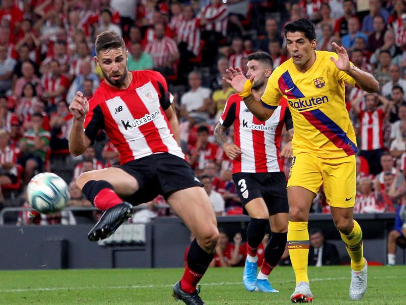 Atletico Bilbao shocks Barcelona in Laliga opener