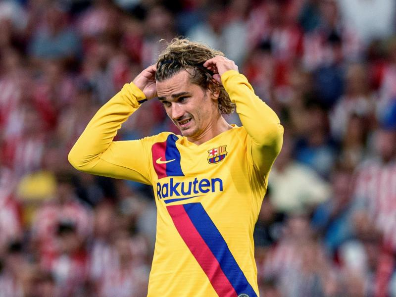 Barcelona fined for tapping  up Griezmann