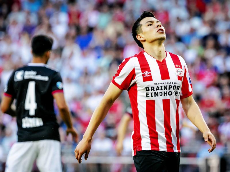 Napoli sign Hirving Lozano from PSV