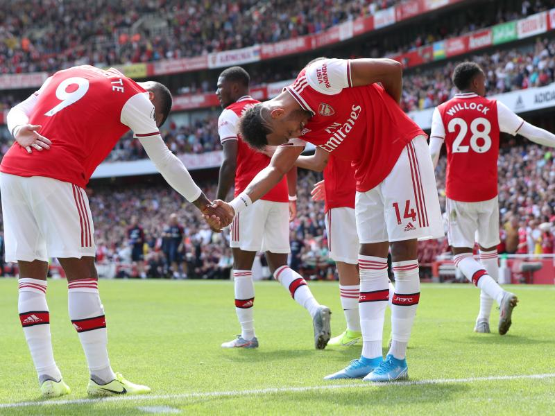 Aubameyang's assessment of Arsenal's front three against Liverpool's trio