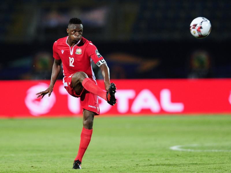 Victor Wanyama angling for a win against Mozambique