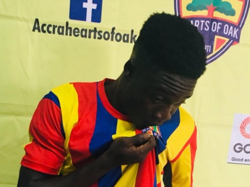 Dominic Eshun determined to succeed at Hearts of Oak