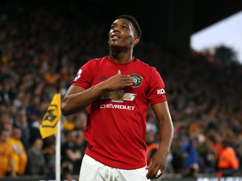 Anthony Martial lauds Manchester United duo ahead of Tottenham Hotspur fixture