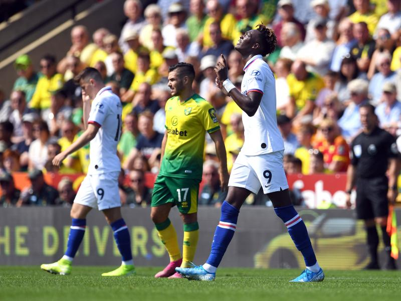 Norwich City 2-3 Chelsea: Tammy Abraham hands Frank Lampard his first win in a five-goal thriller