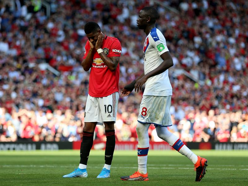 Manchester United 1-2 Crystal Palace: Ole Gunnar Solskjaer's men beaten for the first time in the Premier League by the Eagles
