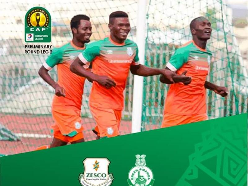 CAF CL: Zesco United out to 'electrocute' Green Mamba