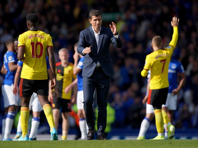 Manager Javi Gracia could be EPL's first coaching casualty