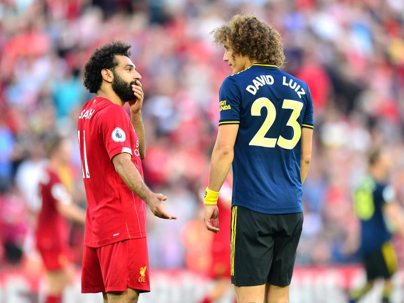 Luiz reveals what Mohamed Salah told him after the game