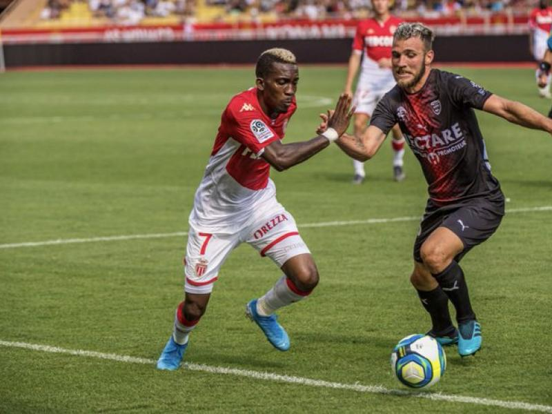 Monaco 2-2 Nimes: Onyekuru excited with assist