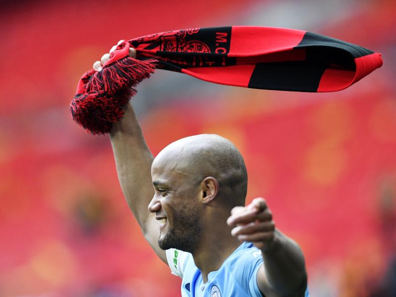 Manchester City legends 2:2 Premier League All-Stars: Kompany's testimonial clash ends in a draw