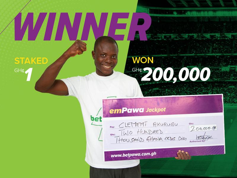 Win GH¢200,000 from a GH¢1 ticket – even if you get a result wrong