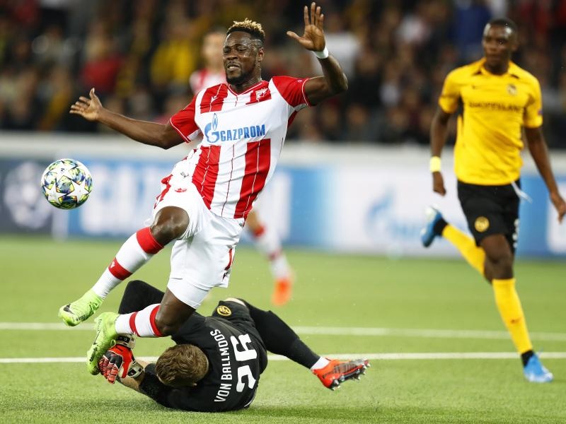 Richmond Boakye features as Red Star Belgrade progress to UCL group stages