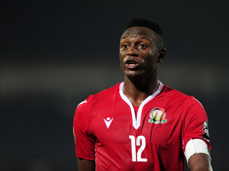 Harambee Stars captain Victor Wanyama reacts to Mozambique loss