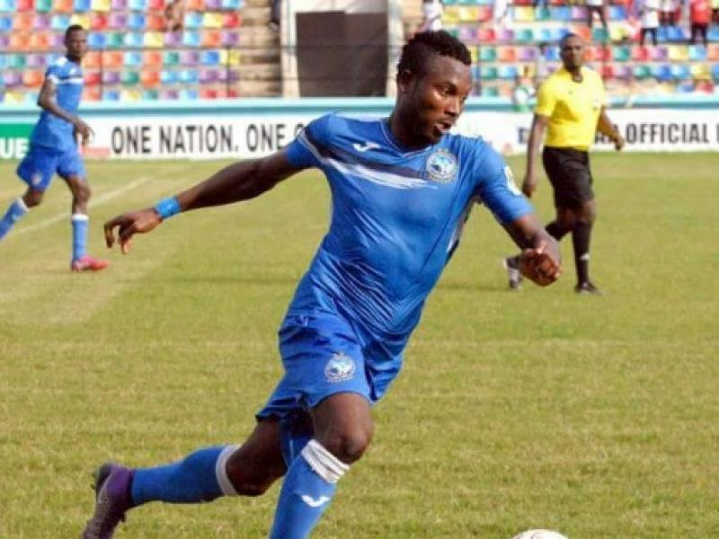 CAF CC: TS Galaxy fans will not intimidate us - Enyimba striker Mbaoma