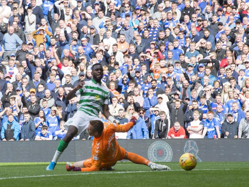 Rangers unbeaten run ended by arch rivals Celtic in Old Firm Derby